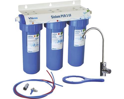 Sistem de ultrafiltrare a apei potabile in 3 trepte PUR 3 UF 10