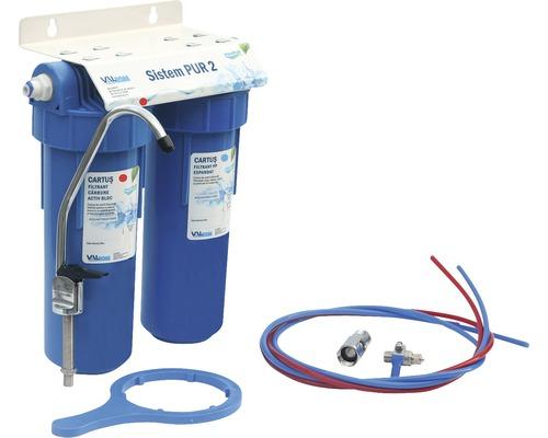 Sistem de filtrare a apei potabile in doua trepte PUR 2 10