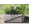 Jardiniera Spang Line Antiqua, argila, 30x19x16 cm, umbra