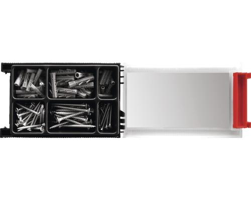 Set dibluri cu surub Tox Monteur Beton, 136 piese