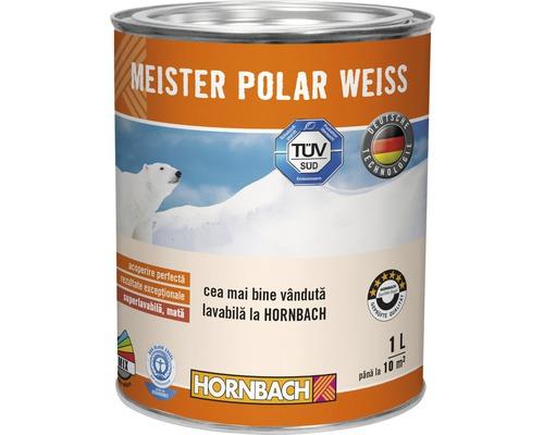 Vopsea lavabila Meister Polar Weiss 1 l
