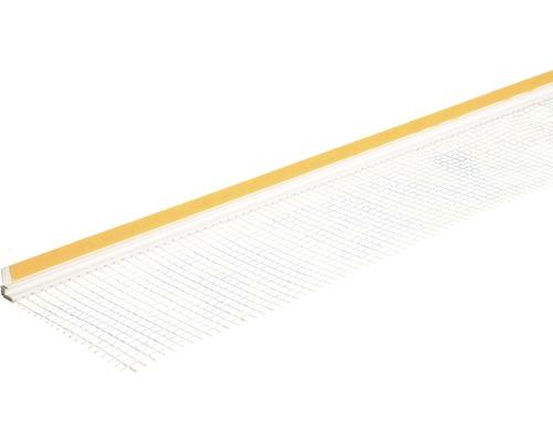 Profil Thermopan PVC cu plasa si banda de etansare 240 cm 6 mm