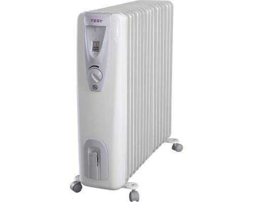 Calorifer electric cu ulei Tesy CB3014E01R, 3000 W, 14 elementi, 3 trepte de putere, termostat reglabil
