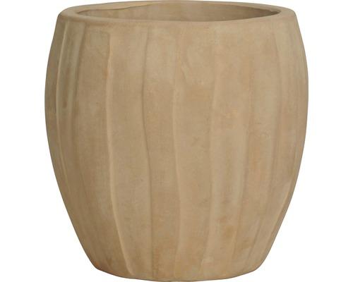 Ghiveci Noah, teracota, Ø 35 cm, h 35 cm maro