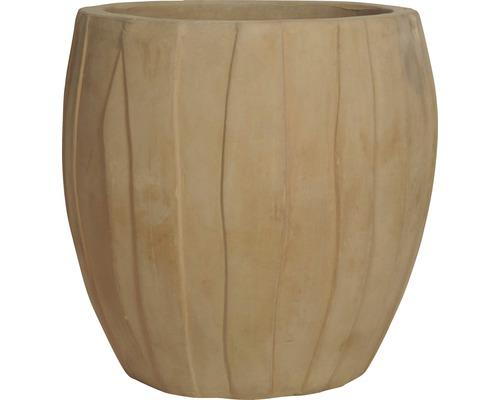 Ghiveci Noah, Ø 50 cm, h 50 cm, teracota, maro