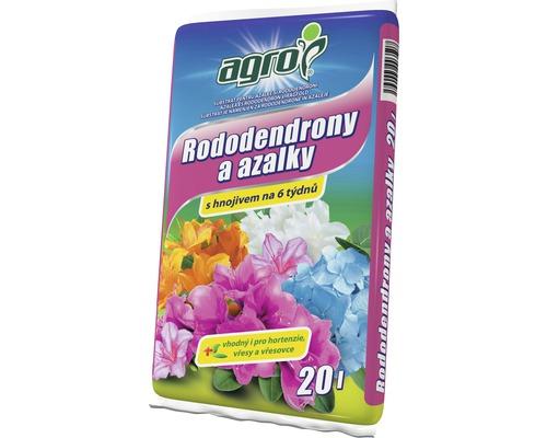 Pamant pentru azalee si rododendroni Agro 20 l