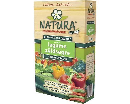 Ingrasamant organic Natura pentru legume, 1,5 kg