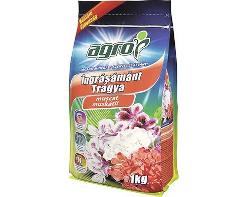 Ingrasamant Agro pentru plante muscate, 1 kg