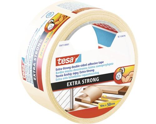 Banda pentru pardoseli tesa® Extra Strong 10 m x 50 mm