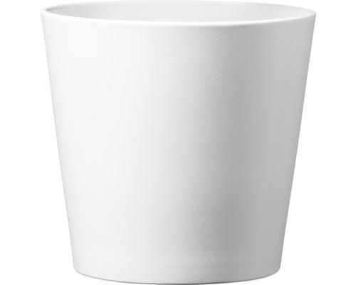 Masca ghiveci Dallas, Ø 13 cm, alb mat