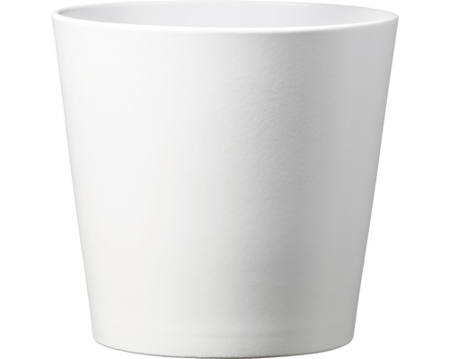Masca ghiveci Soendgen Dallas ceramica Ø 13 cm H 12 cm alb mat