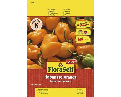 """Seminte de legume FloraSelfSelect, chili """"Habanero"""""""