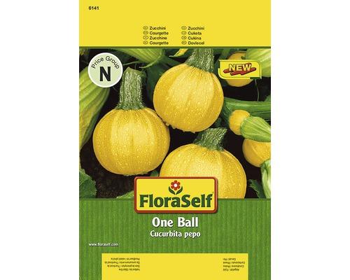 """Seminte de legume FloraSelf, dovlecei """"One Ball"""""""