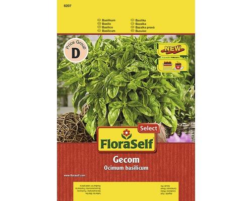 Seminte de plante aromatice FloraSelfSelect, busuioc