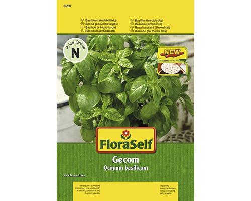 """Seminte de plante aromatice FloraSelf, busuioc """"Gecom"""""""
