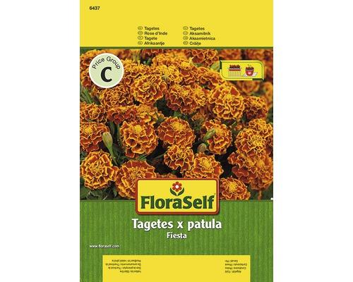 """Seminţe pentru flori FloraSelf, crăițe Tagetes """"Fiesta"""""""
