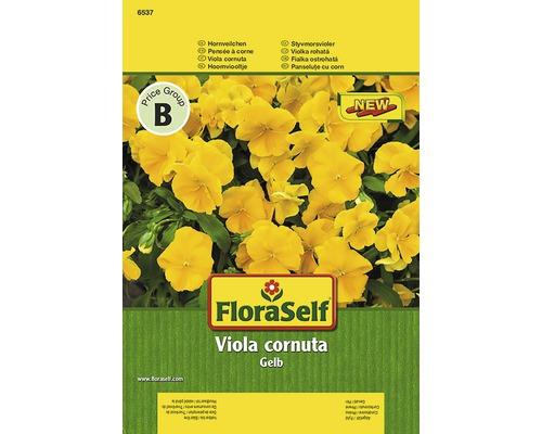 Seminte pentru flori FloraSelf, panselute pitice galbene