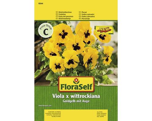 Seminte pentru flori FloraSelf, panselute galbene