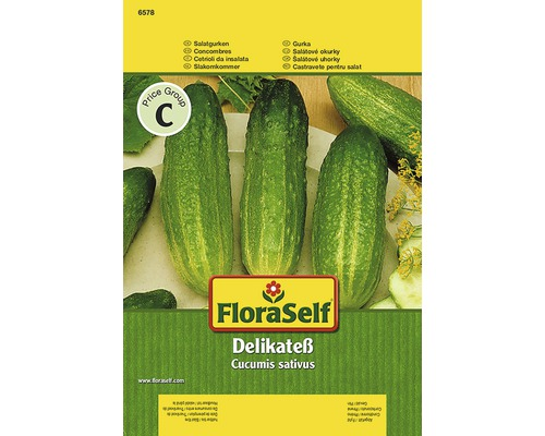 "Seminte de legume FloraSelf, castraveti ""Delikateß"""