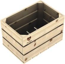Ladă lemn netratat Buildify 34x23x21 cm