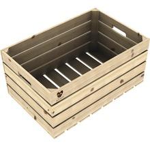 Ladă lemn netratat Buildify 60x39x30 cm