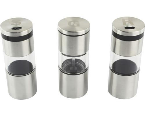Tenneker® solnita, set de 3, cu magnet
