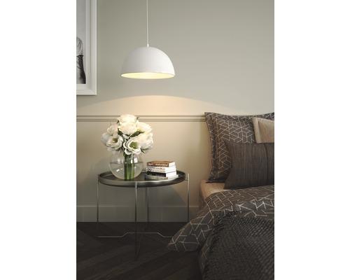 Pendul Nashira E27 max. 1x42W, culoare alb/argintiu