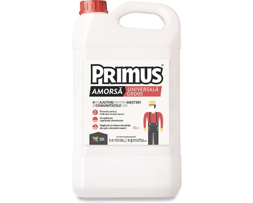 Amorsa universala Primus pentru suprafete absorbante 5 litri