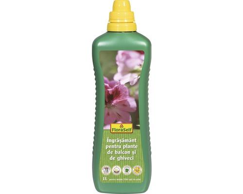 FloraSelf Ingrasamant pentru plante de balcon, 1 l