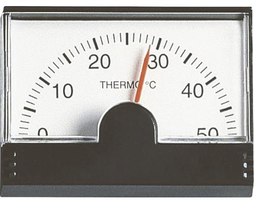 Termometru pentru exterior, negru
