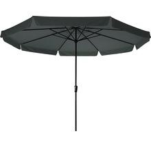 Umbrelă Saint Tropez Ø 350 cm, l 245 cm, 220 g/mp, poliester, gri