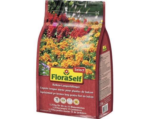 Ingrasamant cu actiune indelungata pentru balcon FloraSelf Select 1,25 kg