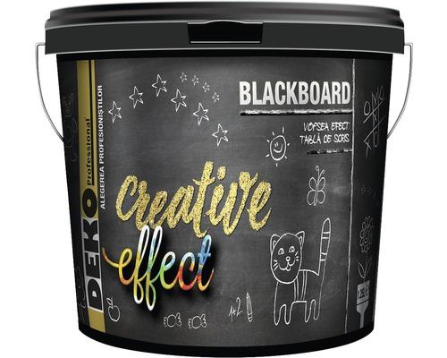 Vopsea cu efect de tabla de scris Deko Creative Effect 1,25 l