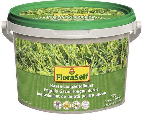 Îngrăşământ cu acţiune îndelungată pentru gazon FloraSelf 5 kg