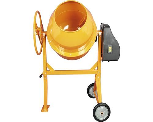 Betonieră capacitate cuvă 180 litri capacitate de lucru 160 litri 650 W