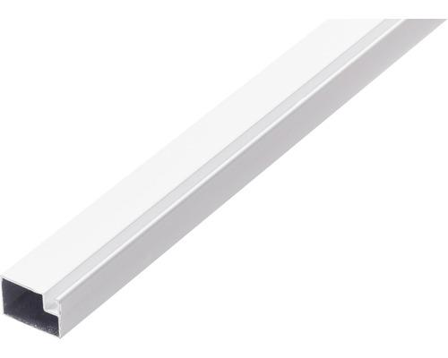 Profil aluminiu plasă țânțari alb 300 cm