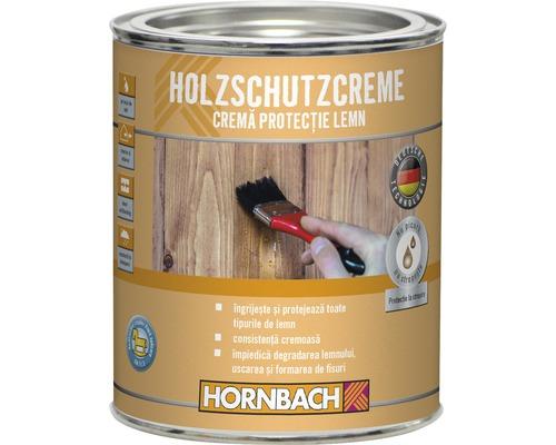 Crema de protectie pentru lemn, incolora 750 ml
