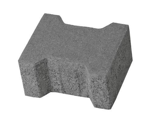 Pavaj dublu T T3 ciment 16,5x20x10 cm