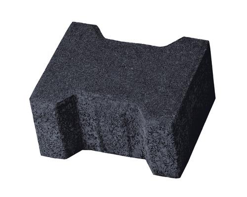 Pavaj dublu T T3 antracit 16,5x20x10 cm