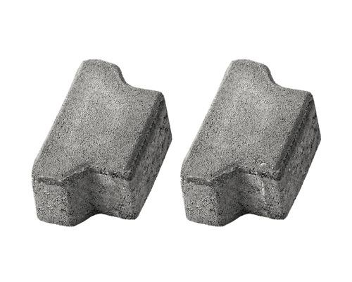 Pavaj dublu T T4 ciment 16,5x10x8 cm