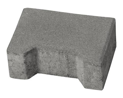 Pavaj dublu T T5 ciment 20x14x8 cm