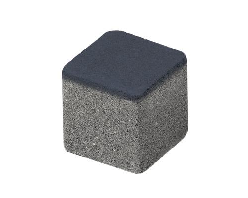 Pavaj cub delimitare grila antracit 8,4x8,4x8 cm
