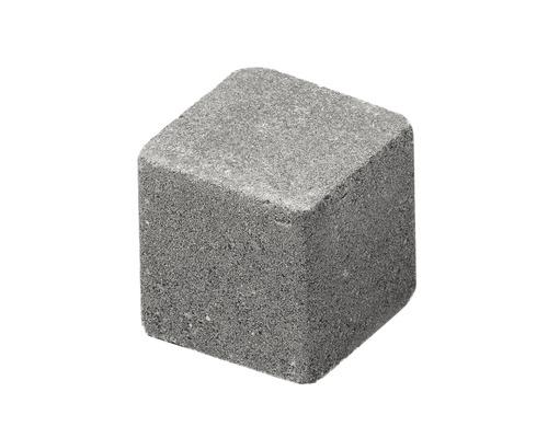 Pavaj cub delimitare grila ciment 8,4x8,4x8 cm