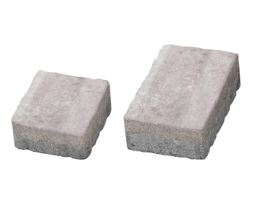 Pavaj Rustic Clasic alb crem 6 cm 138x223/148x138 mm