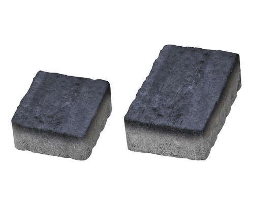 Pavaj Rustic Clasic antracit 6 cm 138x223/148x138 mm