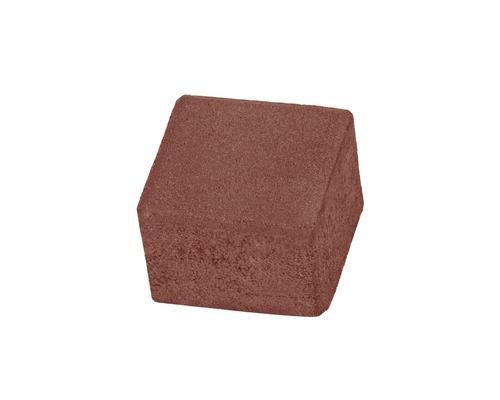 Pavaj pătrat P6 roșu 10x10x6 cm