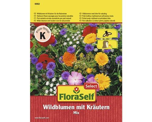Seminte pentru flori salbatice FloraSelf flori salbatice si ierburi aromatice pentru poieni naturale