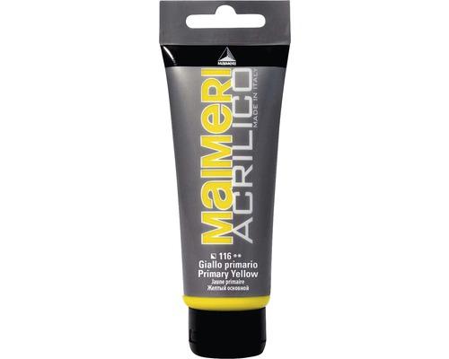 Culoare acrilica Acrilico 116 Primary Yellow 75 ml