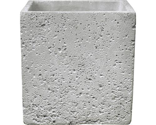 Ghiveci Latina Concrete, Ø 24 cm, gri deschis