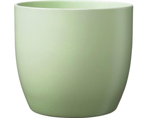 Ghiveci Basel, Ø 16 cm, verde galbui-gri
